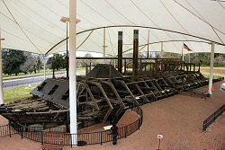 Ironclad USS Cairo Museum in Vicksburg family travel photograph