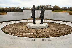 Kentucky Memorial in Vicksburg family travel photograph