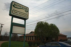 Rowdys Resatuarnt in Vicksburg Mississippi