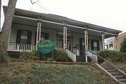 Walnut Hill Restaurant in Vicksburg Mississippi - family travel photograph